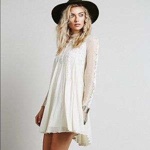 NWOT FREE PEOPLE WRITE ABOUT LOVE DRESS